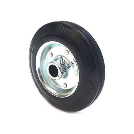 INDUSTRIAL USAGE RUBBER WHEEL 200 MM DIAMETER BORE 25 MM S2000TS