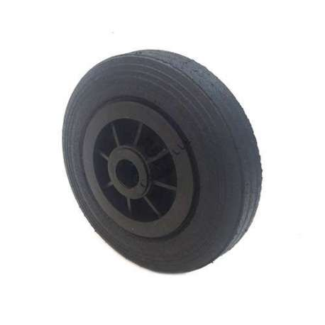 INDUSTRIAL USAGE RUBBER WHEEL 200 MM 25 MM BORE S2000PS