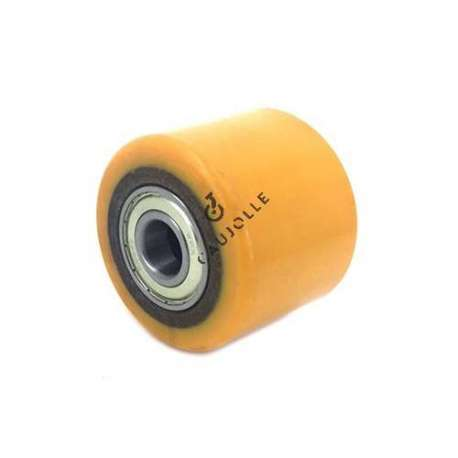 TRANSPALLET WHEEL 80 MM DIAMETER 54 MM LARGE 20 MM BORE
