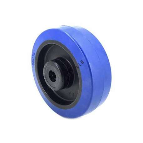 NON-MARKING SUPPLE RUBBER ROLLER 160 MM DIAMETER 12 MM BORE