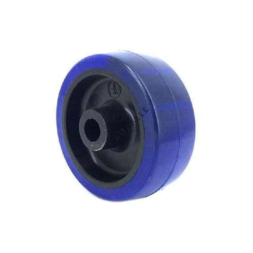 HIGHLY RESISTANT NON-MARKING SUPPLE POLYURETHANE ROLLER 80 MM DIAMETER 12 MM BORE