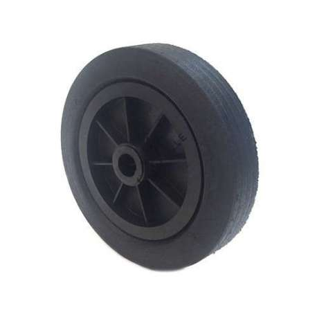 ROUE DE MANUTENTION CAOUTCHOUC DIAMÈTRE 250 MM AXE 25 MM S2000PS