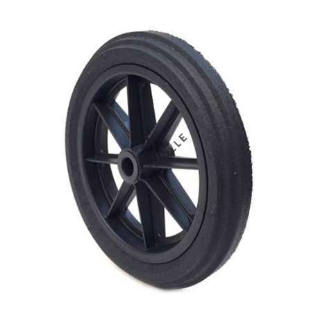 PUNCTURE-PROOF HARD RUBBER WHEELBARROW WHEEL 360 MM DIAMETER 25 MM BORE 74 MM LARGE R25-74