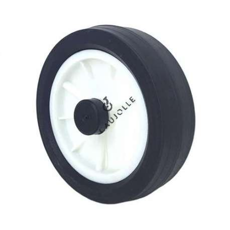 LAWNMOWER WHEEL 170 MM DIAMETER 12 MM BORE