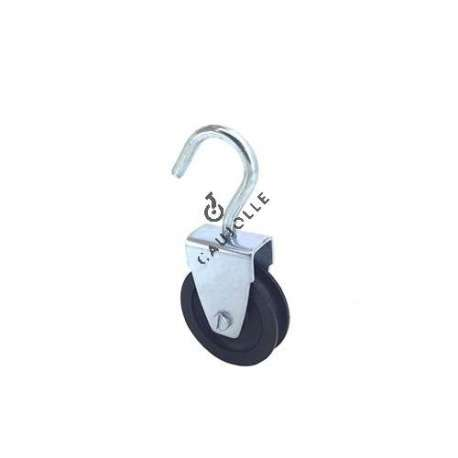 HOOK PULLEY 50 MM DIAMETER