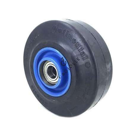 IRON WHEEL SUPPLE TYRE 200 MM DIAMETER 25 MM BORE S2750