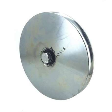 NARROW DOOR ROLLER WITH ROUND HORN 200 MM DIAMETER
