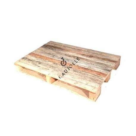 Europe pallet in wood for low tables 1