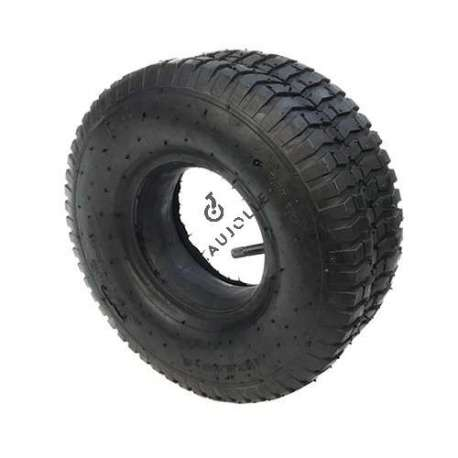 TYRE + AIR CHAMBER 345 MM DIAMETER (15x6-6)