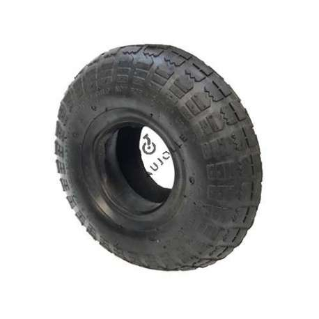 TYRE + AIR CHAMBER FOR FRUIT 'N VEG TROLLEY 260 MM DIAMETER (4.10/3.50-4)