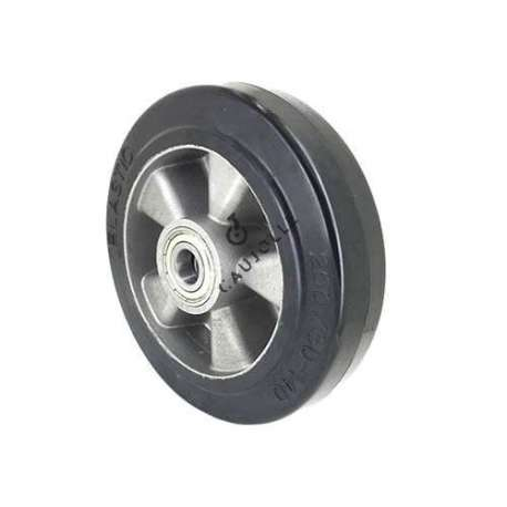 ROUE INDUSTRIELLE A ABSORPTION DE CHOC DIAMÈTRE 200 MM AXE 20 MM S2014