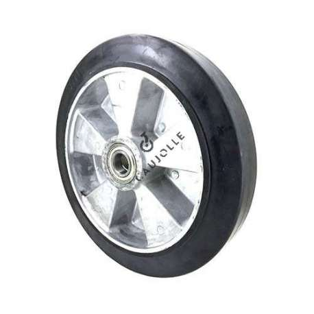 ROUE INDUSTRIELLE A ABSORPTION DE CHOC DIAMÈTRE 300 MM AXE 25 MM S2014