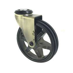CASTOR WHEEL RETRO DESIGN GOLD'STYL 100O