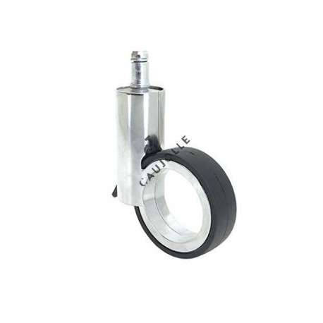 Modern design castor wheel GRAVITY 65T CHROME-PLATED
