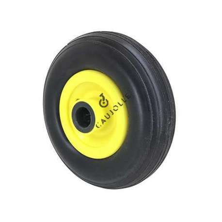 PUNCTURE-PROOF TROLLEY WHEEL 20 MM BORE 260 MM DIAMETER