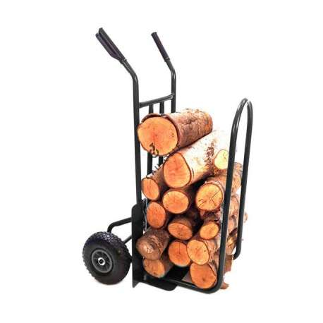 LOG TROLLEY WITH 2 INFLATED WHEELS