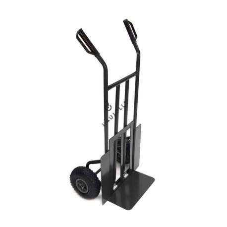 FOLDING TOE SACK TRUCK WITH 2 INFLATED WHEELS